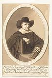 Portrait of Cornelis Brouwer in oval
