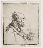 Bald Old Man with a Short Beard