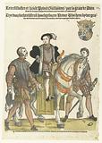 Portrait of William of Orange as a boy on horseback