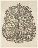 "The coat of arms of the Amsterdam rhetorician chamber ""De Egelantier"""