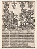 William VI, Jacoba of Bavaria, Philip the Good and Charles the Bold