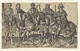 Charles the Bold, Mary of Burgundy, Maximilian I, Philip the Fair and Charles V