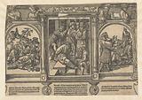 Mocking of Christ, of Noah and of Elisha