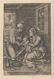 Mary with child and Saint Anna