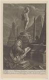 Portrait of Hadriaan Beverland Drawing a Statue of Venus