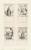 Saint Nicholas of Myra, Saint Dionysia and Saint Majoricus of Africa, Saint Agathopus of Crete, Mary trampling a …