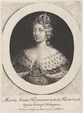 Portrait of Queen Maria Anna of Spain