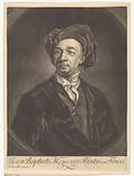 Portrait of the painter Jean Baptiste Monnoyer