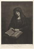 Old woman with bible on her lap, possibly Rembrandt's mother