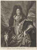 Portrait of the French king Louis XIV