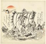 Seven seasick lucky gods