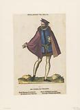 Standing man in Dutch dress