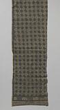Hip belt of oriental textile; batik