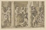 Saints Peter and John heal a paralytic