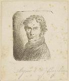 Self-portrait of Ernst Willem Jan Bagelaar
