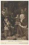 Painting 'The Saint Nicholas Feast' by Jan Steen