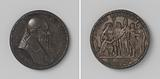 Restoration of Catholicism in England, medal in honor of Pope Julius III