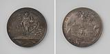 Collection of Bonn, Huy, Limburg, Rheinberg and Geldern, medal in Alkmaar awarded to the participants of a lottery for …