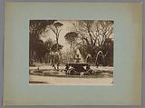 Fountain, Villa Borghese, Rome