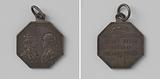 Maria Christina and Albert-Kasimir, governors of the southern Netherlands, medal honored by the Brabant region