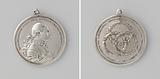 Karel Willem Ferdinand, Duke of Brunswick, medal offered by the States of Holland and West Friesland to the chief …