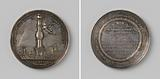 Defense of Ternate against British and Moors by governor-director Johan Godfried Budach, medal minted by order of the …