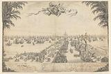 The Prince's fleet in the harbor of Hellevoetsluis, 1688
