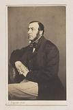 Portrait of the painter (Louis Jean? ] Somers, knee-length portrait