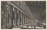 Interior of the Santa Maria Maggiore in Rome
