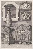 Sarcophagus of Constantina and candlestick