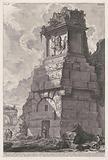 Tomb along the road from Rome to Tivoli