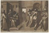 Pilate washes his hands innocently