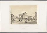View of the Saint-Nicolas church in Boulogne-sur-Mer