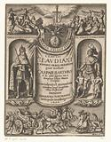Allegorical title page with Theodosius I and Flavius Stilicho