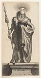 Apostle Matthew with spear