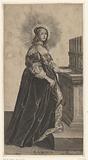 Saint Cecilia with organ