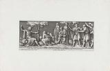 Giovanni de 'Medici receives refugees from Prato
