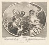 Allegorical representation of the origin of fire
