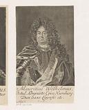 Portrait of Moritz Wilhelm von Sachsen-Zeitz