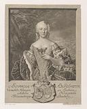 Portrait of Sophia Antonia von Sachsen-Coburg-Saalfeld