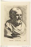Portrait bust of Democritus