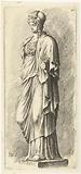 Statue of Minerva without forearm