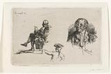 Study sheet with three figures
