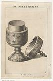 Pot or drinking cup with lid