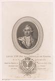 Portrait of Louis XVIII, king of France