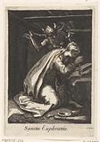 Saint Euphrasia of Constatinople as a hermit