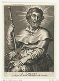 Saint Roch as a pilgrim with an ulcer