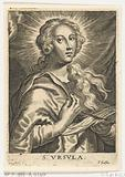 Saint Ursula with two arrows