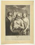 Silenus met Flora en Zephyrus