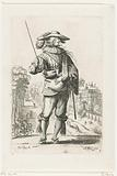 French nobleman belonging to the order of Saint Esprit, dressed according to the fashion of around 1630